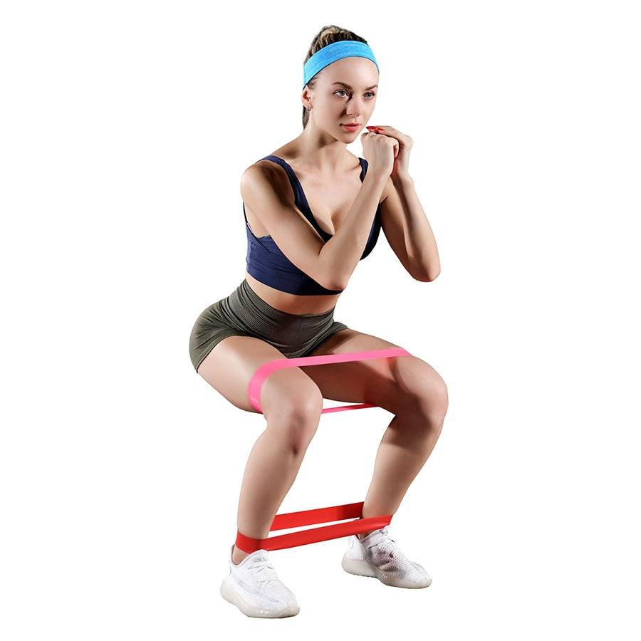 Wide Latex Strength Resistance Band