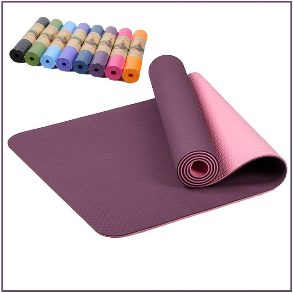 6 mm Colorful Yoga Mat